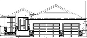 38 Bower Drive - Front Elevation