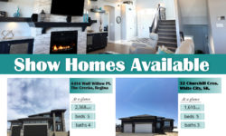 emerald park homes show homes available in the creeks and white city