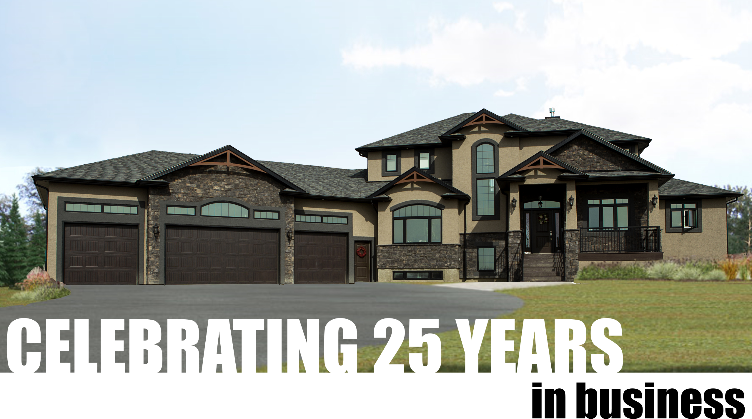 celebrating 25 years in business with emerald park homes